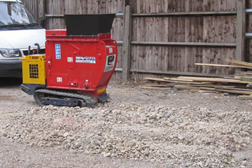 Concrete Crusher Hire - Concrete crusher hire covering London, Middlesex, Berkshire, Surrey and surrounding areas