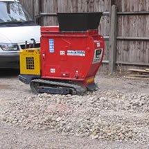 Mini crusher hire in London, UK