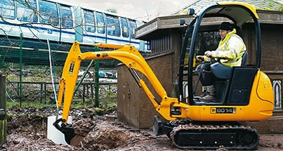 Mini Diggerhire in London UK